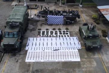 Armada Nacional incautó material de guerra perteneciente al 'Clan del Golfo'