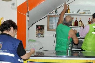 Autoridades cerraron seis establecimientos en Siloé  por falta de documentación