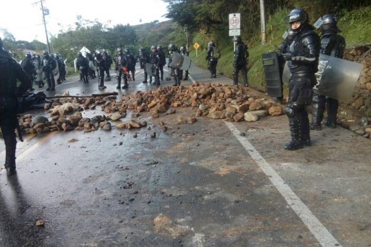 En el sexto día de Minga el balance es de 36 indígenas heridos y 4 detenidos
