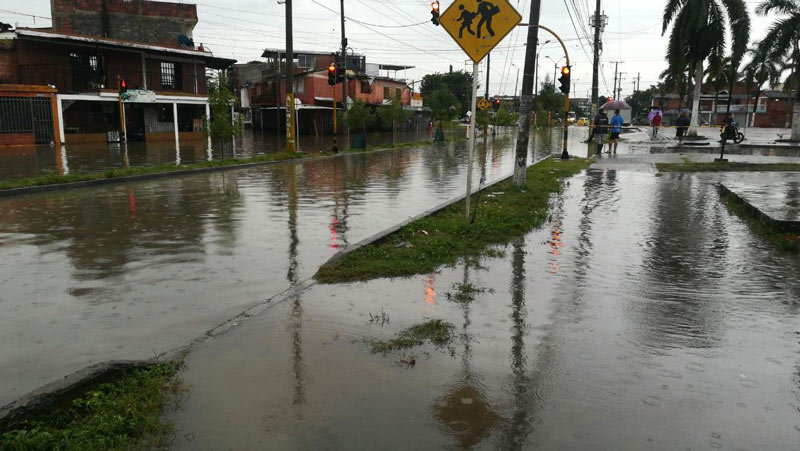 En Cali cayó en unas horas la lluvia que generalmente cae en un mes: CVC