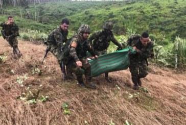 Explosión de mina antipersona dejó un campesino herido en el Chocó