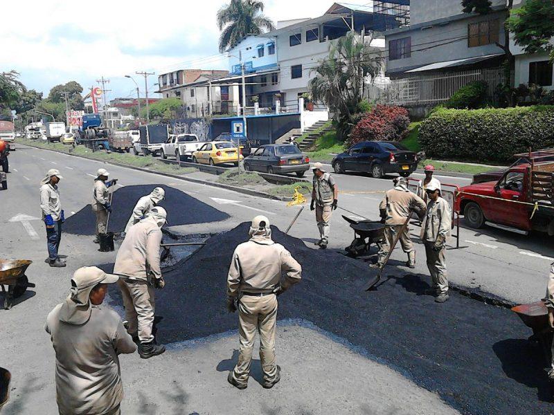'Plan Bachetón' intervendrá esta semana 30 puntos estratégicos de las vías de Cali