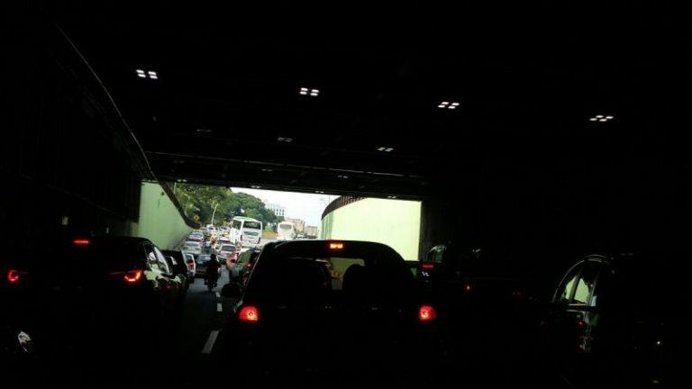 Delincuentes dejaron a oscuras túnel de la Avenida Colombia en Cali