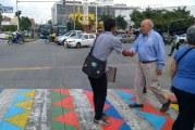 Jornada del  'Día D' busca concientizar a los peatones de los riesgos en la vía