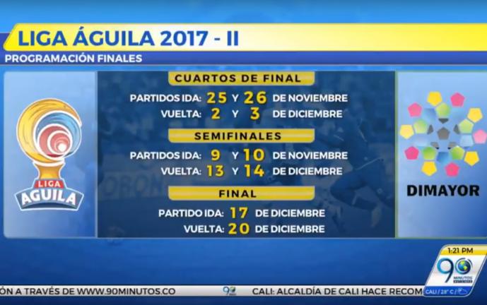 Con calendario al día, Dimayor definió fechas para disputar fase final de la Liga