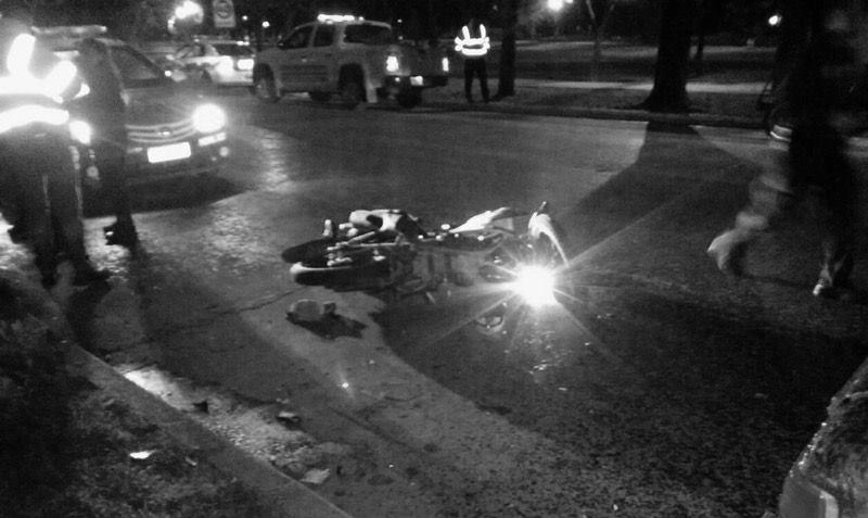 Motociclista falleció tras chocar contra un árbol en vía de El Cerrito, Valle