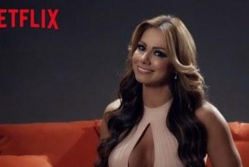 """El picante video de Esperanza Gómez y Netflix para que """"no la den tan rápido"""""""