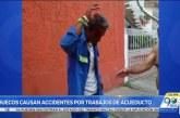 Caleños denuncian que huecos por trabajos de Emcali provocan graves accidentes