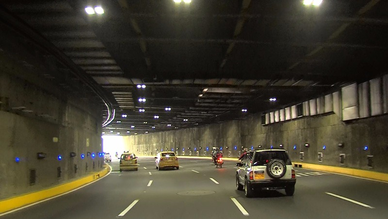 Túnel Mundialista será cerrado este domingo para reponer elementos robados