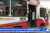 Por inseguridad en el barrio, habitantes de Llano Verde se quedaron sin rutas de buses