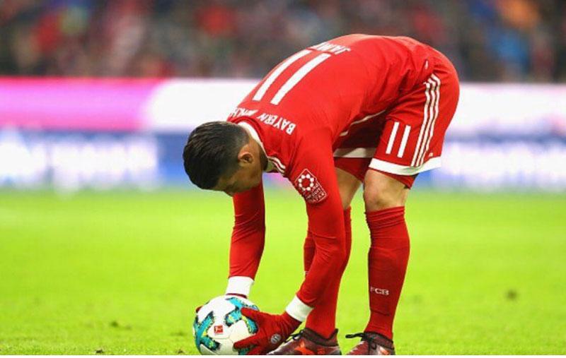 """""""A pesar de que rendía, yo no estaba en las preferencias de Zidane"""": James Rodríguez"""
