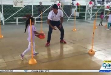 Más de 500 niños del Valle beneficiados del programa de psicomotricidad de Indervalle