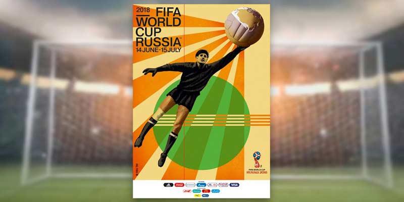 Póster del Mundial de Rusia 2018 rinde homenaje al histórico arquero Lev Yashin