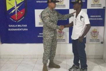 Armada Nacional rescató a comerciante de 55 años secuestrado en Buenaventura