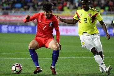 La Selección Colombia no pudo con Corea en partido amistoso, cayó 2-1