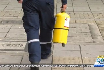 Bomberos de Cali denuncian nueva modalidad de robo para hurtar extintores