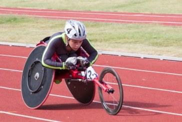 Feria deportiva: ciclismo, patinaje y atletismo en sillas de ruedas