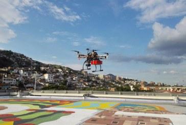 Tomó vuelo dron que transportará muestras de laboratorio a zonas de difícil acceso en Cali