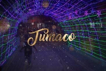 En el parque Colón se encendió la alegría navideña de 'La Perla del Pacífico'