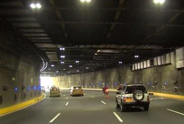 Túnel mundialista será cerrado cada noche hasta el 27 de septiembre por mantenimiento