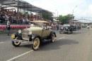 Detalles de Lo que pasó en el Desfile de Autos Clásicos y el Superconcierto