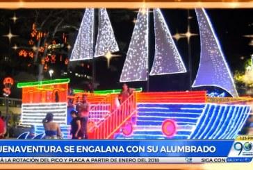 Buenaventura le apuesta al turismo con el alumbrado navideño