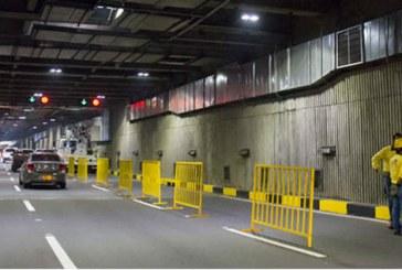 Habrá cierres en el Túnel Mundialista durante este festivo