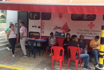 Cruz Roja del Valle invita a los caleños a donar sangre en la temporada decembrina