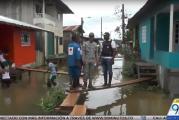 Damnificados por lluvias en Chocó le piden al Gobierno envío de ayudas humanitarias