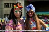 Feria de Moda: estampados geométricos y colores vivos en el Día del Pacífico
