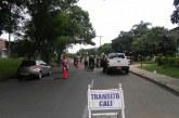 Supuesto agente de Policía golpeó a una guarda de tránsito cuando lo iba a multar