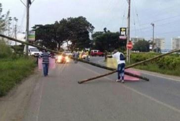 Habitantes de Jamundí protestan por cambio de fechas para elección de alcalde