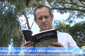 Humberto Jarrín presentó 'La Furia', novela ganadora del premio Estímulos 2017