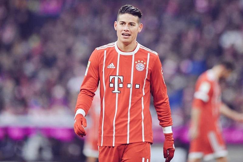 """Destacada actuación de James en la victoria del Bayern sobre el PSG"""""""