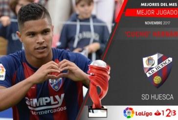 El mejor jugador de la segunda división del fútbol español es colombiano