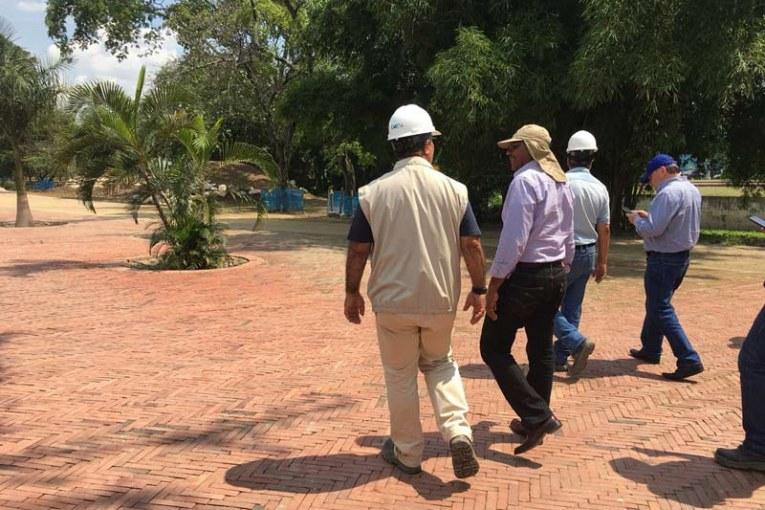 Nuevos retrasos para la entrega de la primera parte del Parque Lineal Río Cali