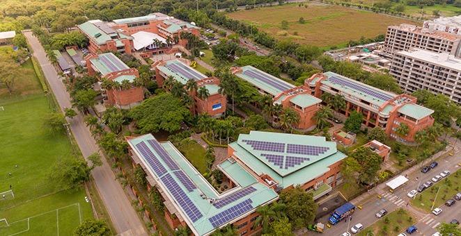 Reconocen a la Autónoma como la universidad con el campus más sostenible de Colombia