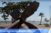 Rescatan restos del buque 'Tritonia' en Buenaventura después de 88 años