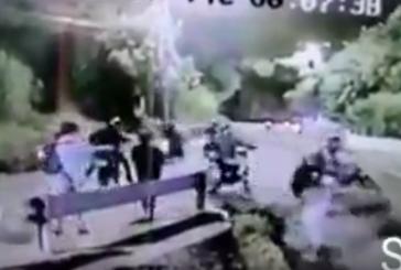 Motociclistas en caravana robaron a tres personas en vía a Cristo Rey