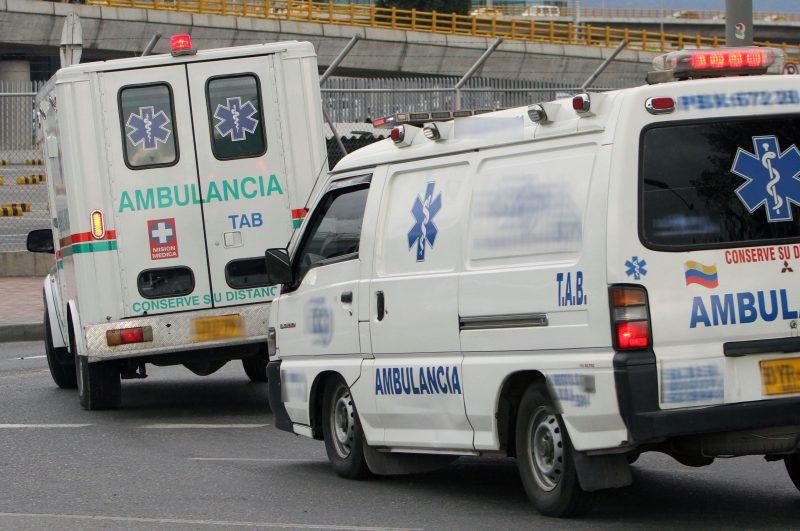 Cuando llevaba un paciente a Cali, ambulancia fue sancionada por exceso de velocidad