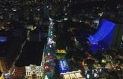 En video: disfruta el alumbrado del Bulevar del río Cali como nunca lo viste