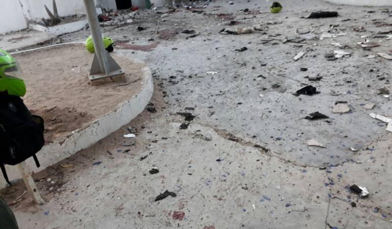 Atentado en estación de Barranquilla dejó cuatro policías muertos