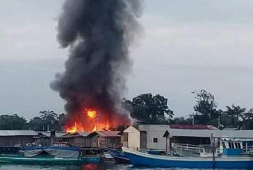 Incendio consumió seis viviendas en Tumaco y dejó dos más afectadas