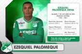 Acuerdo entre 'verdes', Ezequiel Palomeque llegó para reforzar al Deportivo Cali