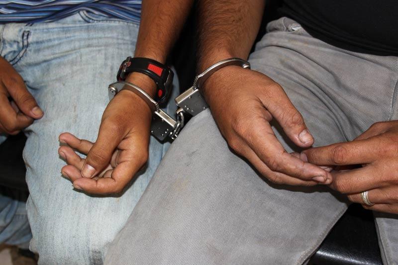 Capturados dos hombres por delito de extorsión en la ciudad de Buga