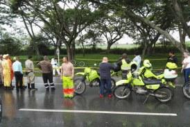 Investigan asesinato de ciclista que se transportaba en la recta Cali – Palmira