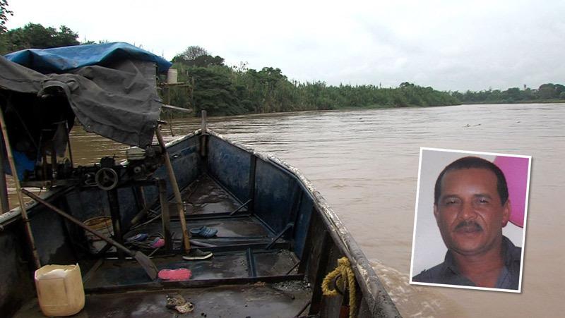Buscan a hombre que cayó hace cuatro días al río Cauca mientras trabajaba en una draga