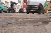 Comerciantes del barrio San Nicolás esperan reparación de sus calles desde hace 10 años