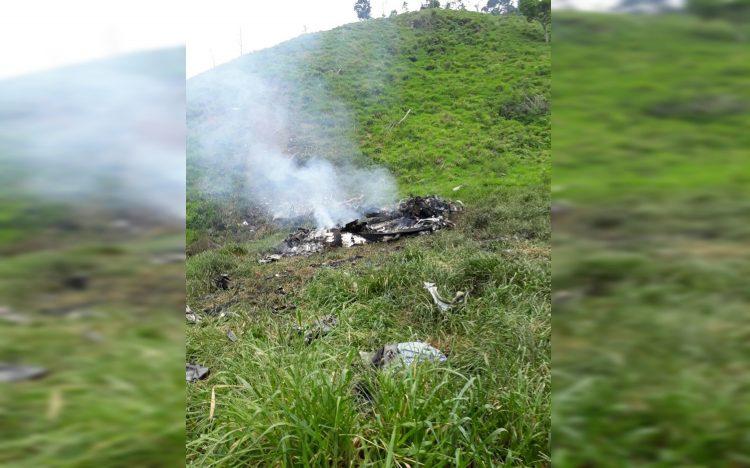 Accidente de helicóptero del Ejército deja 10 personas muertas en Antioquia
