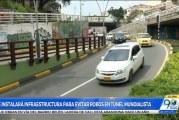 Autoridades identificaron a responsables de robo de cable en Túnel Mundialista